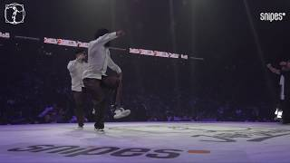 Ness & Poppin C vs Precise & Breeze Lee – Juste Debout 2019 Popping QUARTER FINAL