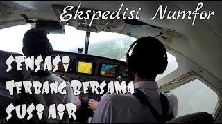 Video Ngeri2 Sedap Terbang dengan Susi Air menuju Pulau Numfor (Ekpedisi Numfor Part1) (Papua vlog059) MP3, 3GP, MP4, WEBM, AVI, FLV Februari 2019