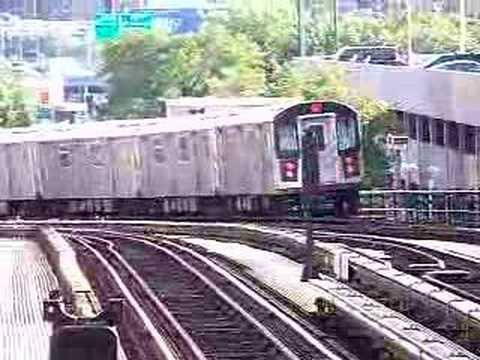 MustangFan424 - This is a video I took of a R142 4 Train Departing 161st Yankee Stadium With a R62 4 Train Entering the station.