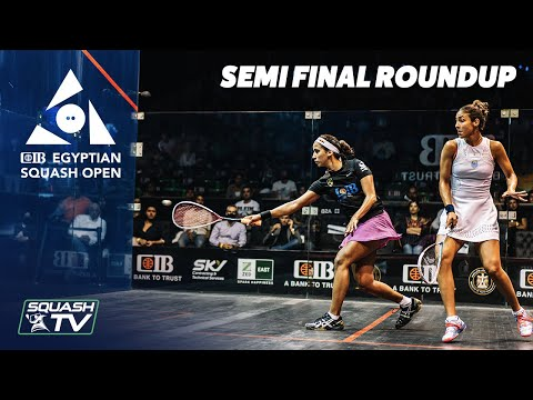 Squash: CIB Egyptian Squash Open 2020 - Women's Semi Final Roundup