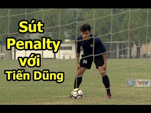 Thử thách bóng đá sút Penalty với Bùi Tiến Dũng U23 Việt Nam - Thời lượng: 12:20.