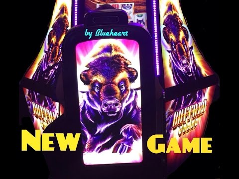 ** NEW ** BUFFALO GRAND slot machine BONUS BIG WIN!