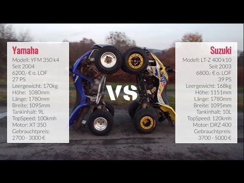 Suzuki LT-Z 400 vs Yamaha YFM 350 | Part 01