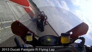 7. 2013 Ducati 1199 Panigale R CotA Flying Lap - MotoUSA