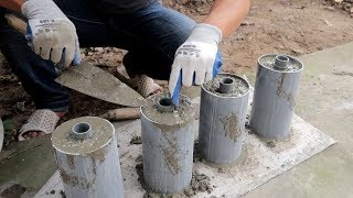Video Amazing Ideas Construction Homemade Dumbbells Cement Using Plastic Pipe a Correctly MP3, 3GP, MP4, WEBM, AVI, FLV April 2019