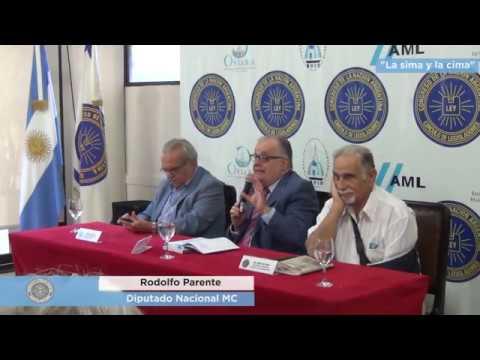 """Presentación de """"La sima y la cima"""" del Diputado Nacional (MC) Rodolfo Parente"""