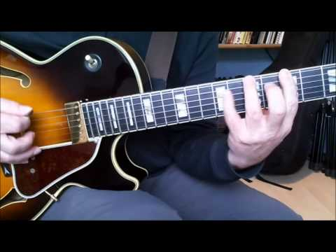 Jazz Guitar – Introduction to Bebop Scales