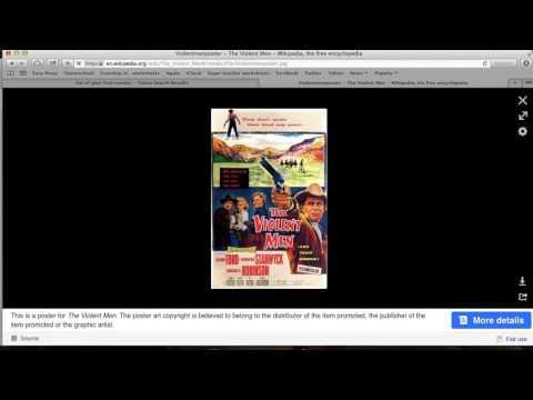 old westerns: Glenn Ford and The Violent Men