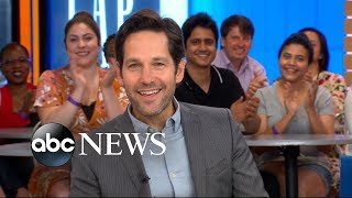 Video Paul Rudd dishes on 'Ant-Man and the Wasp' live on 'GMA' MP3, 3GP, MP4, WEBM, AVI, FLV November 2018