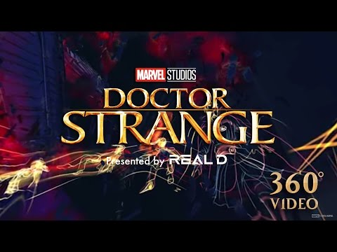 Doctor Strange (Viral Video 'Google Tilt brush - Stuart Campbell')