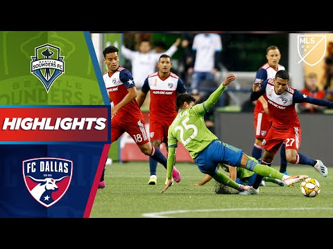 Video: Seattle Sounders FC vs. FC Dallas | Playoff Hopefuls Drop Points | HIGHLIGHTS