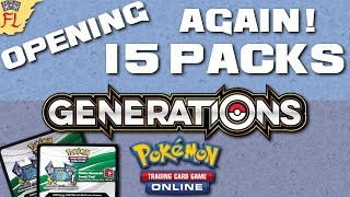 Opening Another 15 Pokemon TCG Online Generations Packs - EX PARTY! by Flammable Lizard
