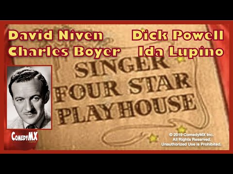 Four Star Playhouse - Season 2 - Episode 13 - Man of the World | David Niven, Dick Powell