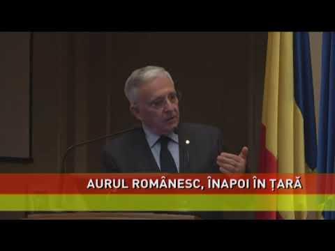 Proiect de lege pentru aducerea în țară a aurului românesc