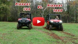 10. Honda Pioneer 700 Vs 1000 Drag Race!