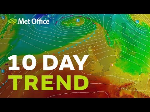 10 Day Trend – September sunshine and warmer weather? 11/09/19
