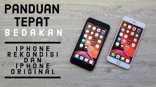 Download Video Cara bedakan Iphone asli dan rekondisi MP3 3GP MP4