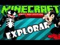 Minecraft Xbox 360 - Explorando o Mundo do Gargamel XD
