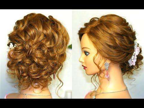 Prom wedding hairstyles, updos for long medium hair. Свадебная прическа, прическа на выпускной