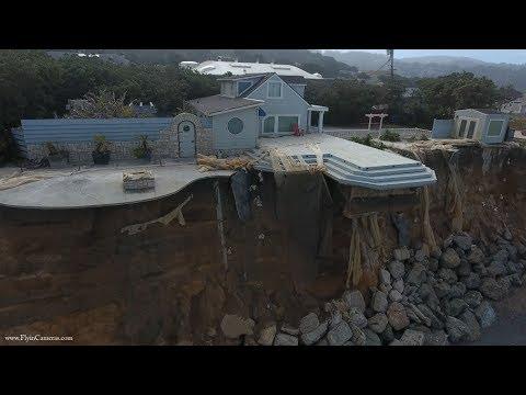 A mówili, zbuduj sobie dom nad morzem, będzie bezpiecznie…