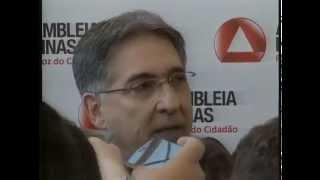 VÍDEO: Entrevista do governador eleito Fernando Pimentel na chegada à Assembleia Legislativa