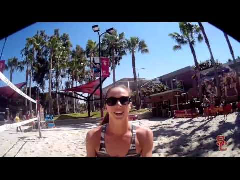 USC Beach Volleyball - Jo Vision