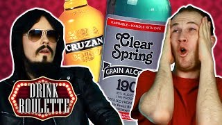 Irish People Try Drink Roulette - Strongest Alcohol Edition (95%, 190 Proof)