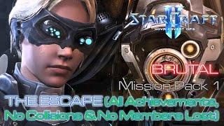 Starcraft II: Nova Covert Ops - Brutal - Mission Pack 1 - Mission 1: The Escape