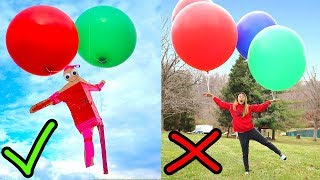Video WILL THIS WORK?? (FLOATING WITH GIANT BALLOONS) MP3, 3GP, MP4, WEBM, AVI, FLV Desember 2017