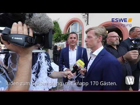 Wiesbadens Oberbürgermeister Sven Gerich hat geheir ...