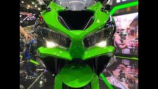 10. 2019 Kawasaki ZX6R or New Kawasaki Ninja 650 Bangkok Motor Expo