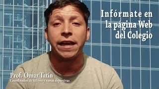 Talleres Extraprogramáticos Alcántara 2019