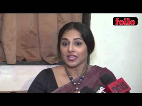 Girls Should Be Allowed To Wear What They Want To: Vidya Balan