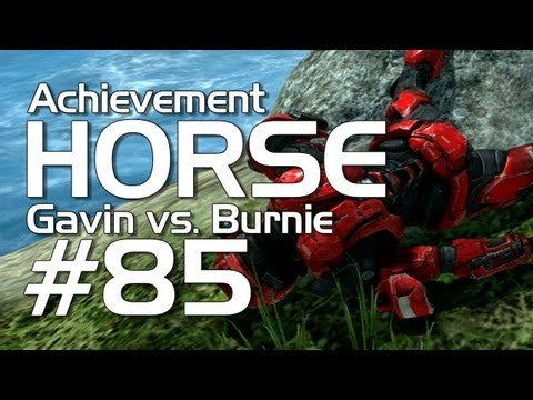 Gavin - Burnie and Gavin go head to head in this week's second round matchup in the office Halo HORSE tournament! Who will win? Who will get fired?