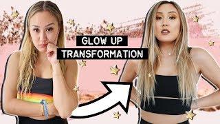 GLOW UP TRANSFORMATION w/ Adelaine Morin by LaurDIY