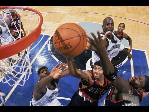 Kevin Garnett vs Rasheed Wallace  Battle of Big Men With SKILLS