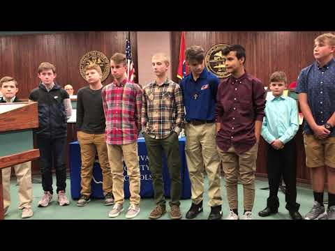 Video: Holston Middle Eagles football honored