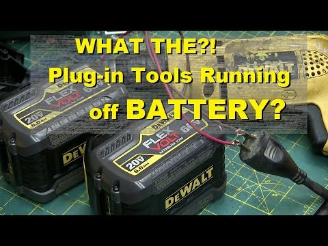 Plug-in Power Tool to CORDLESS CONVERSION.
