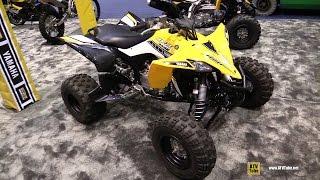 10. 2016 Yamaha YFZ 450R 60th Anniversary Sport ATV - Walkaround - 2015 AIMExpo Orlando