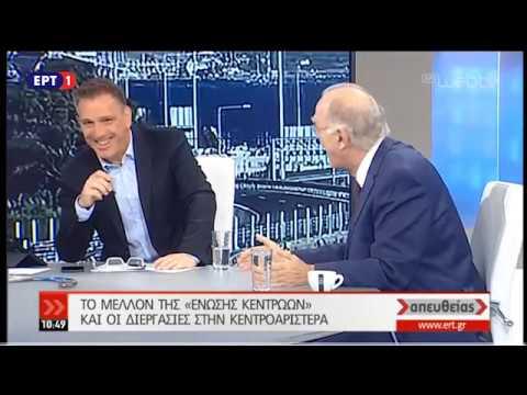 Ο Βασίλης Λεβέντης στην εκπομπή «Απευθείας» | ΕΡΤ