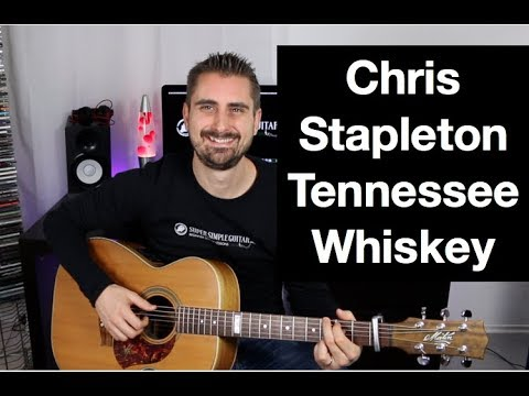 "Chris Stapleton ""Tennessee Whiskey"" Guitar lesson"