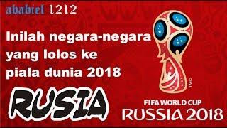 Video Inilah negara-negara yang lolos ke piala dunia 2018 Rusia MP3, 3GP, MP4, WEBM, AVI, FLV Desember 2017