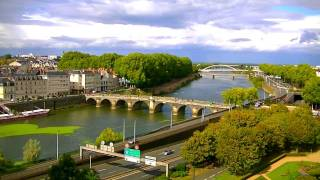 Angers France  City pictures : A DAY IN ANGERS - ANGERS TIMELAPSE