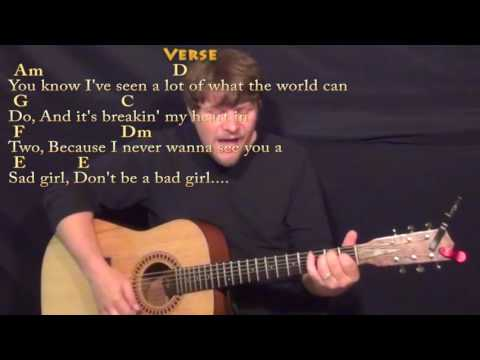 Wild World (Cat Stevens) Strum Guitar Cover Lesson With Chords/Lyrics
