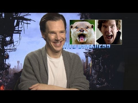 Benedict Cumberbatch - Emmy winning entertainment reporter Chris Van Vliet from WOIO talks to the cast of Star Trek Into Darkness. Zachary talks about eyebrow merkins and crochet m...