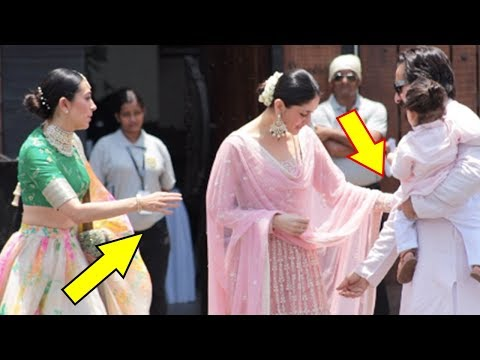 Saif Ali Khan Gets Angry On Kareena Kapoor Khan At Sonam Kapoor's Wedding Ceremony