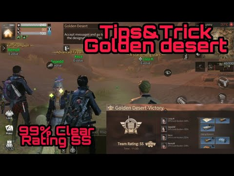 LifeAfter ~ Tips & Trick Rating SS di Desert Golden sand castle