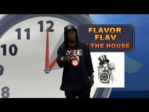 Flavor Flav does weather report in SLC