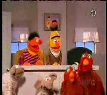 Bert and Ernie Pattern Game Video