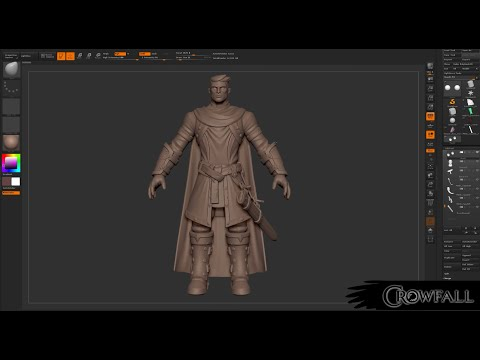 Crowfall – Knight Modeling